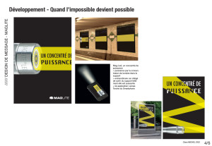 Planches Maglite Dvpt