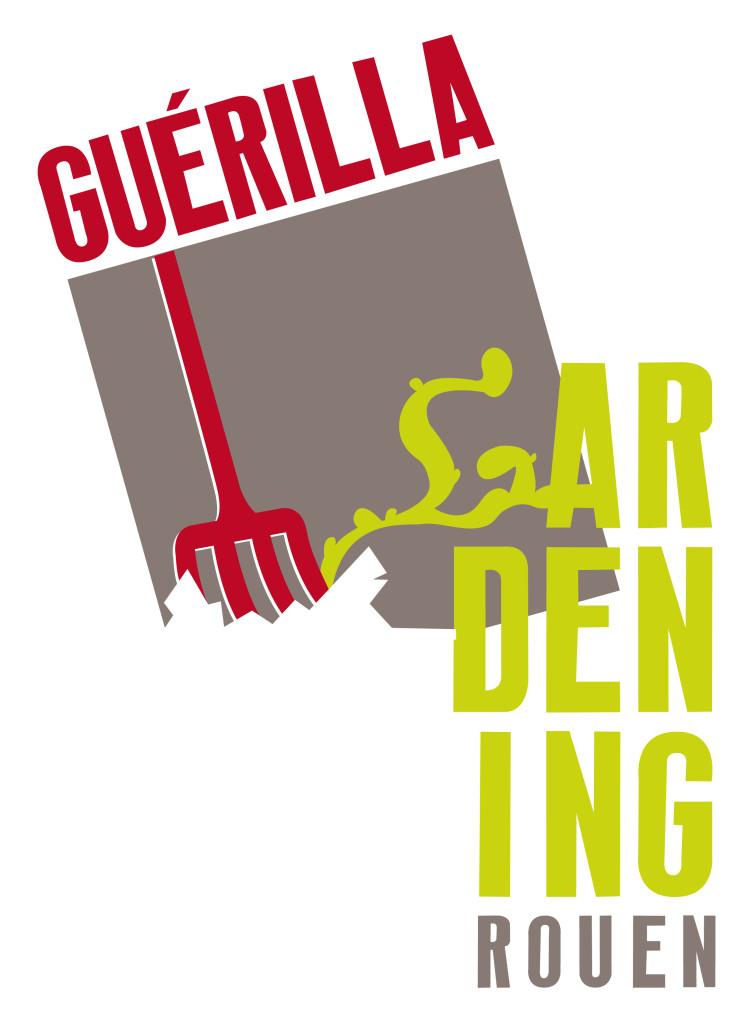 logo guérilla gardening
